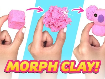 THE WEIRDEST CLAY EVER!!! Oddly Satisfying Morph Clay DIY!