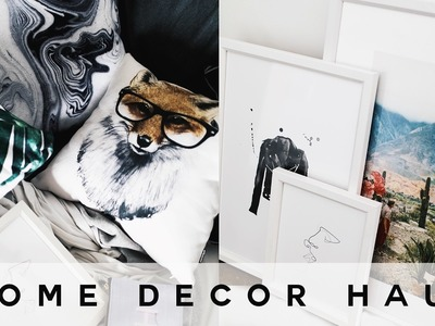 Tumblr Home Decor Haul (Minimal & Affordable) 2017 - Imdrewscott