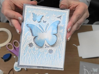 "#186 Learn New Techniques with XCut ""Cut & Emboss"" Embossing Folders by Scrapbooking Made Simple"