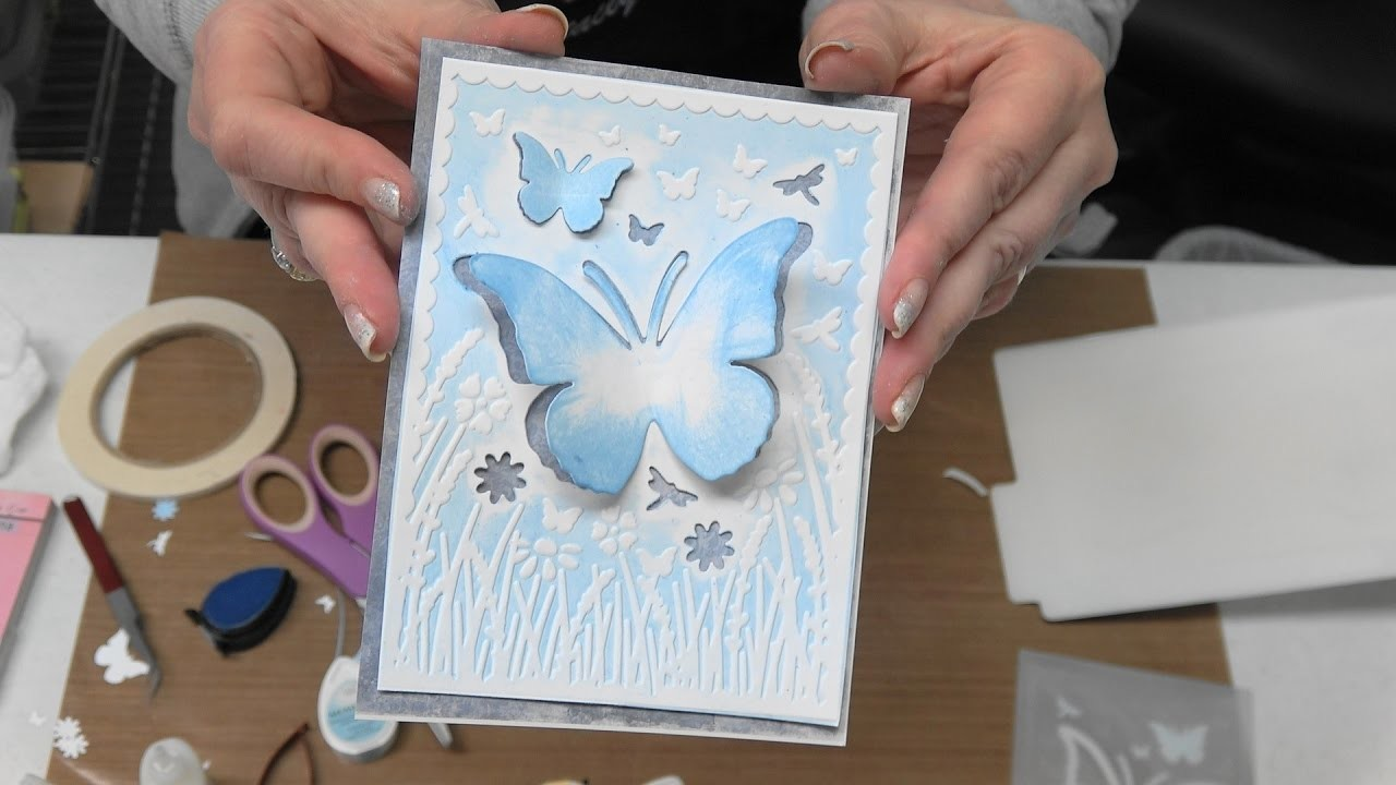 """#186 Learn New Techniques with XCut """"Cut & Emboss"""" Embossing Folders by Scrapbooking Made Simple"""
