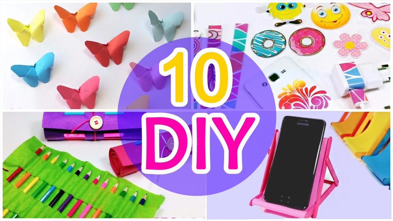 5 Minute Crafts To Do When Youre Bored 10 Quick And Easy Diy Ideas