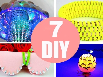 5 Minute Crafts To Do When You're BORED! 7 Quick and Easy DIY Ideas! Amazing DIYs & Craft Hacks!