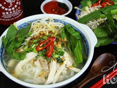 Asian at Home | Chicken Pho (Phở Gà)