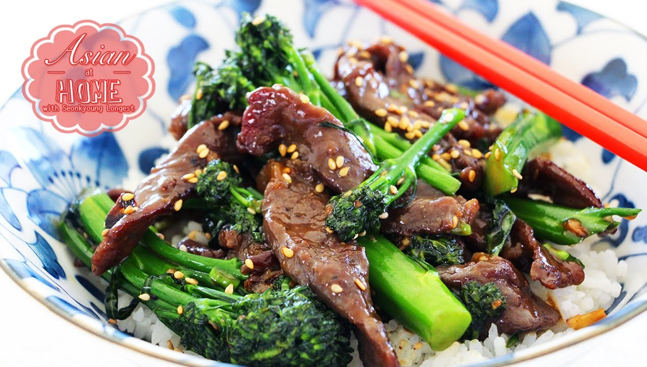 Asian at Home | Easy Beef and Broccoli