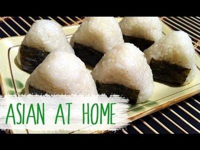 Asian at Home   Rice Ball (Jumeogbap.Onigiri) Bento Idea