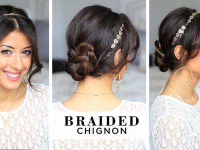 Braided Chignon Hair Style