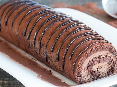 Chocolate Swiss Roll Recipe