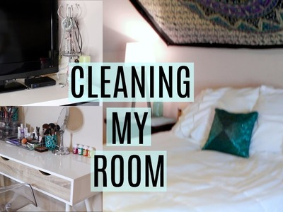 CLEANING MY ROOM!!!