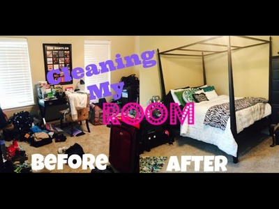 Cleaning My Room (Time Lapse)