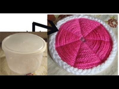 Coaster ,table mat ,pattern with packing box lid