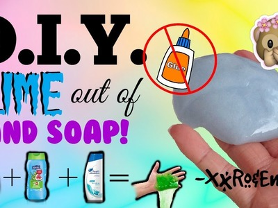 D.I.Y. Slime out of Hand Soap | Non-Stick Slime without GLUE, BORAX, CORNSTARCH, SALT, etc.