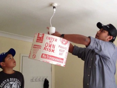 DIY Suspension kits and how to install a ceiling lamp shade