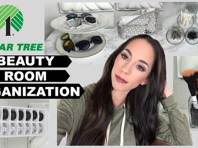 Dollar Store Beauty Room Organization Ideas