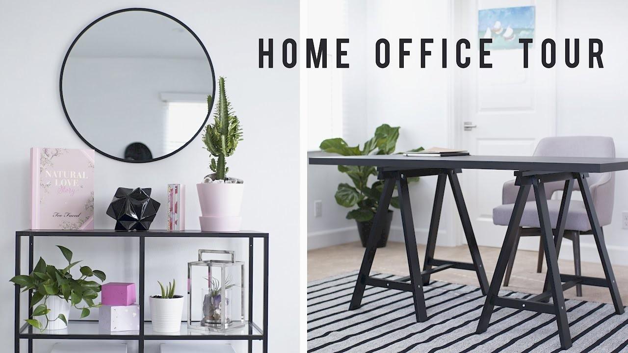 Home Office Room Tour + Desk Decor 2017 ????   ANN LE