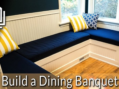 How to Build a Dining Nook.Banquette : Budget Renos #01