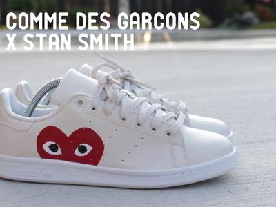 HOW TO Custom Comme Des Garçons x Stan Smith