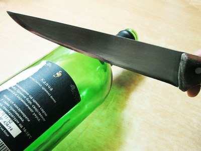 Beer bottle glass concrete counter tops my crafts and diy for Easiest way to cut glass bottles