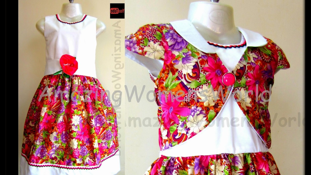 HOW TO CUT & SEW BABY FROCK WITH BOLERO JACKET  - STEP BY STEP - EASY MAKING -DIY