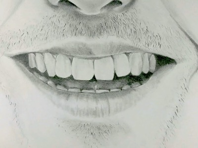 How to Draw a Smiling Mouth