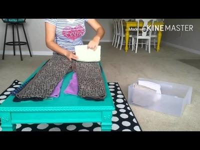 How to fold jeans: Using the Konmari Method