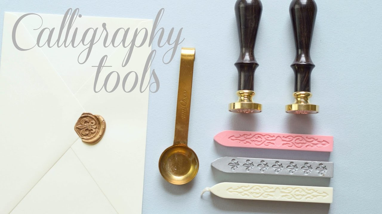 How To use Wax Seal Stamps