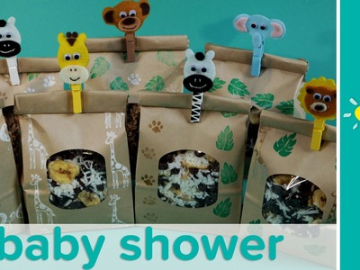 Jungle Theme Baby Shower Favor Ideas: Homemade Trail Mix Recipe | Pampers
