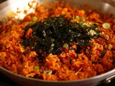 Kimchi fried rice: 김치볶음밥