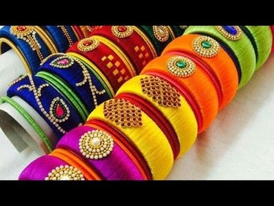 Latest Silk Thread Bangles Collection 2017