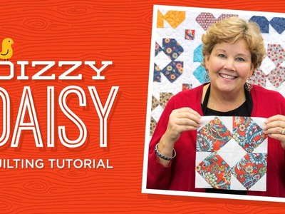 Make a Dizzy Daisy Quilt with Jenny!