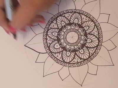 Mandala paso a paso y tips 2. Dibujo Rapido