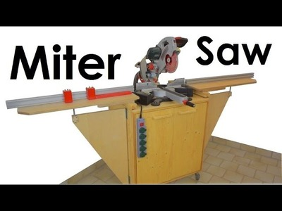 Miter Saw Station | Stop Block System (+FREE PLANS) | Dust Collection Test | Metabo KGS 254 PLUS