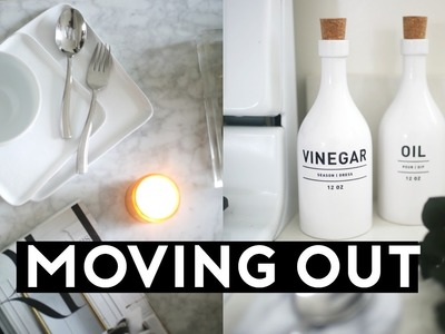 Moving Out & First Apartment! Tips + Essentials! What YOU NEED!