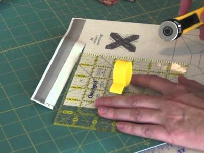 Part 1 Freezer Paper Foundation Piecing