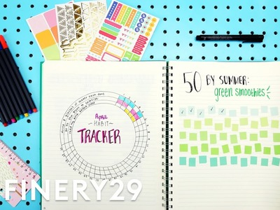 Plan With Me - Bullet Journal With Lucie Fink | Try Living With Lucie | Refinery29