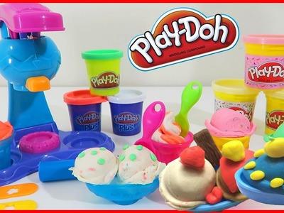Play Doh Double Treat Ice Cream Set Banana Split & Sundae Sweet Shoppe Desserts 'n Treats by Dinhhai