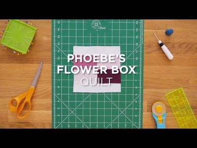 Quilt Snips Mini Tutorial - Phoebe's Flower Box