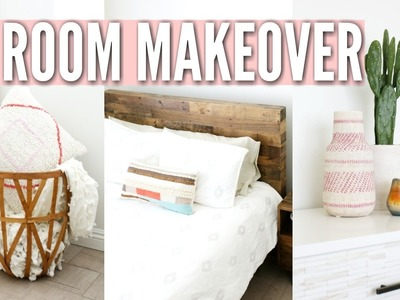 ROOM MAKEOVER | Minimal & Tumblr ROOM TOUR
