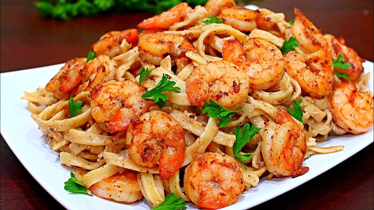 how to cook shrimp alfredo pasta