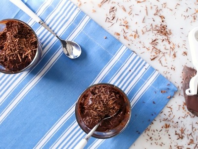 Smooth & Silky Double Chocolate Pudding- Everyday Food with Sarah Carey