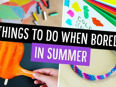 Things To Do When You're Bored in Summer! ☀️ Collab w. Makoccino | Sea Lemon