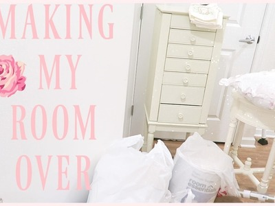 VLOG: MAKING MY ROOM OVER | fancy vlogs