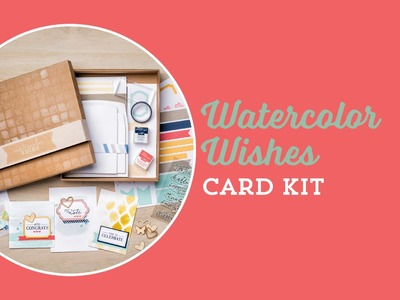 Watercolor Wishes Card Kit by Stampin' Up!