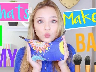 What's In My Makeup Bag 2017! | Sasha Morga