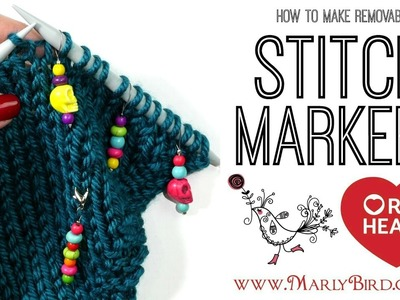 Beginner Basics Knitting and Crochet DIY Removable Stitch Markers for Knitting or Crochet