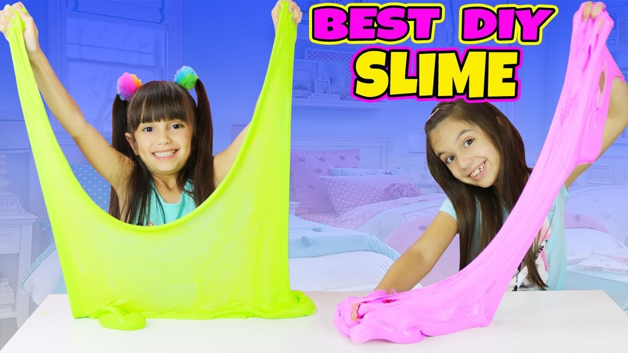 BEST FLUFFY SLIME EVER!- GIANT EASY STRETCHY DIY SLIME - Slime Challenge