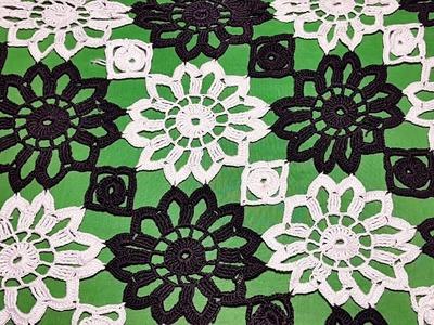 Crochet Design #4# DIY Table Cover Design टेबल कवर डिज़ाइन