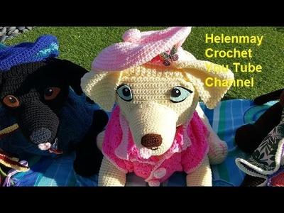 Crochet Large Labrador Retriever Amigurumi Part 2 of 3 DIY Video Tutorial