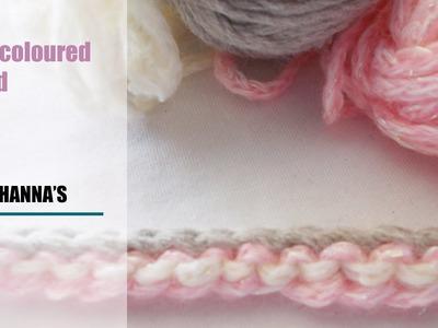 Crochet: Multicolored I-cord