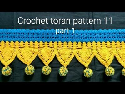 Crochet toran pattern 11 part 1