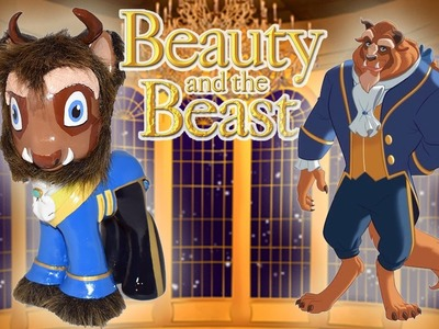Custom BEAST PONY Disney's BEAUTY AND THE BEAST Tutorial DIY MLP My Little Pony